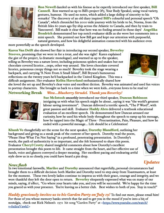 ProEdge ToastCrumbs 1. July 2014 Page 2