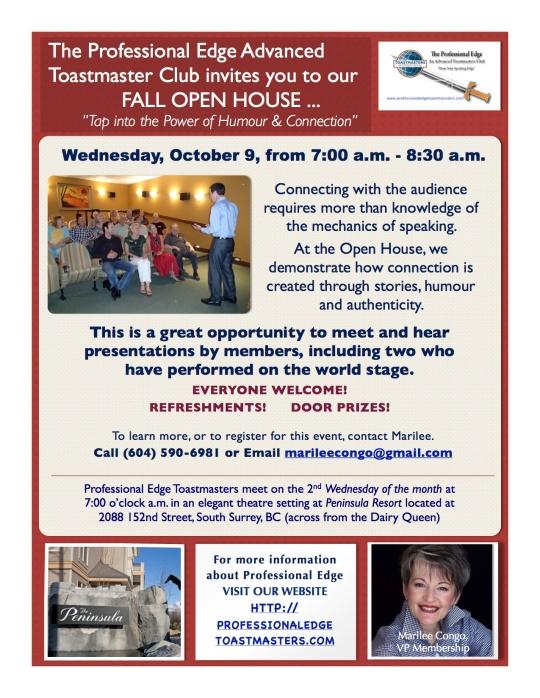 Professional Edge Open House 2013