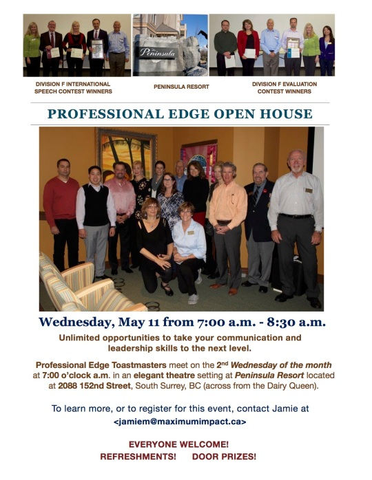 Professional Edge Open House 2016